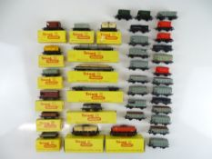 A large quantity of boxed and unboxed TRI-ANG TT Gauge wagons - G in G boxes (where boxed) (37)