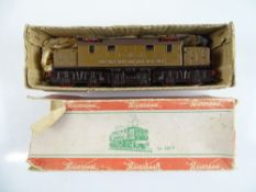 A vintage RIVAROSSI Le 626 Italian Outline electric locomotive - G (missing some handrails) in P/F
