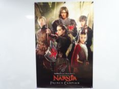 CHRONICLES OF NARNIA - A collection of signed memorabilia to include: Promotional poster signed by