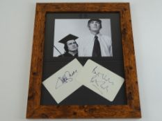 COMEDY: A framed and glazed display of black and white photographic still of DUDLEY MOORE and