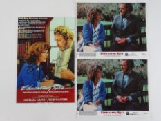 EDUCATING RITA: A selection of photographs (two 10x8 and one 12x8) of JULIE WALTERS signed by