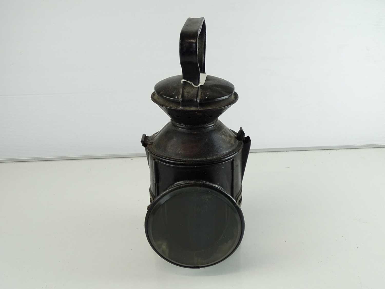 A Great Eastern Railway oil lamp