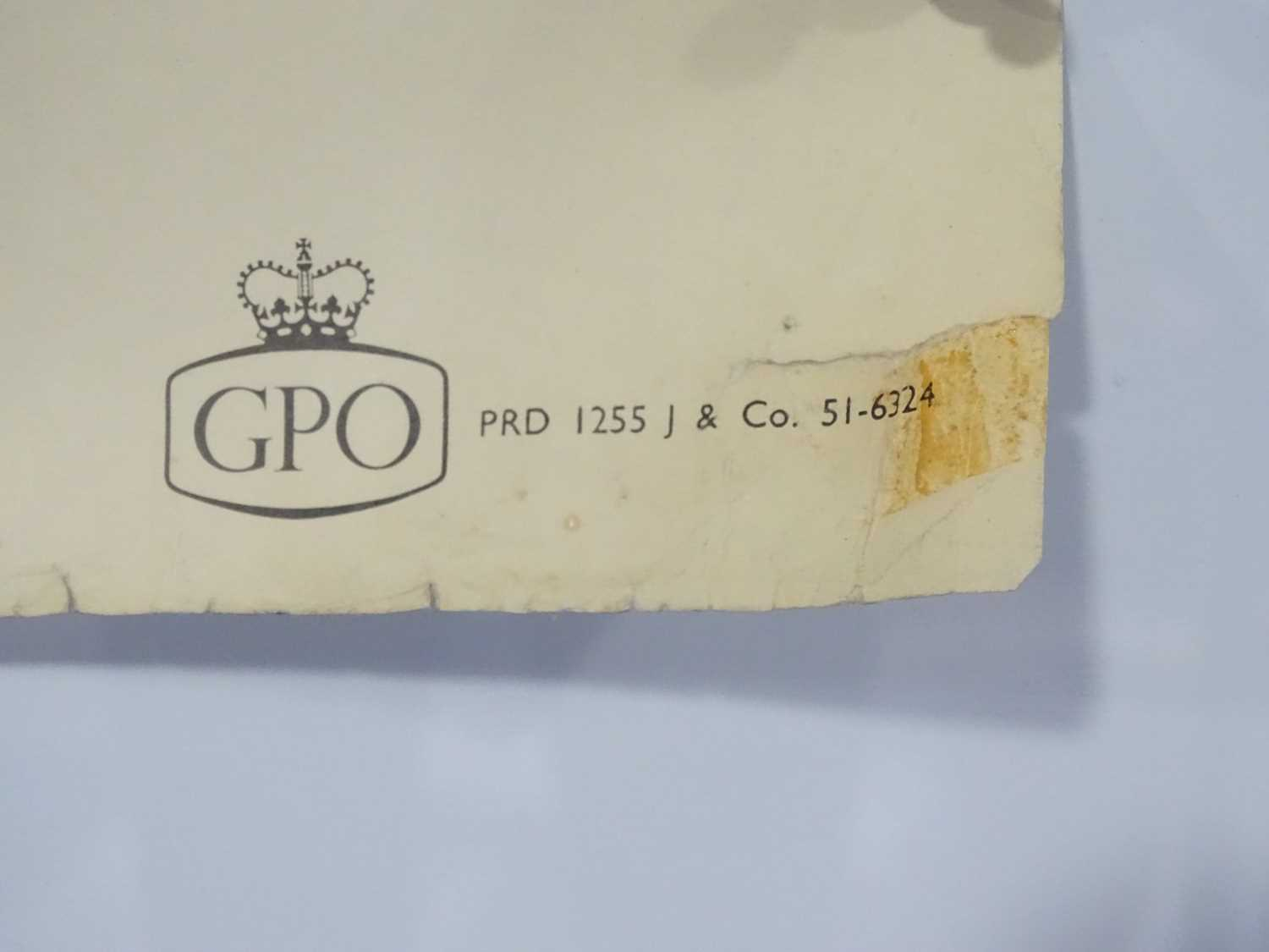 GPO (Post Office) circa 1962 - 'Keeping in Touch' - 'The Post Office in the Country' - Landscape - Image 3 of 3