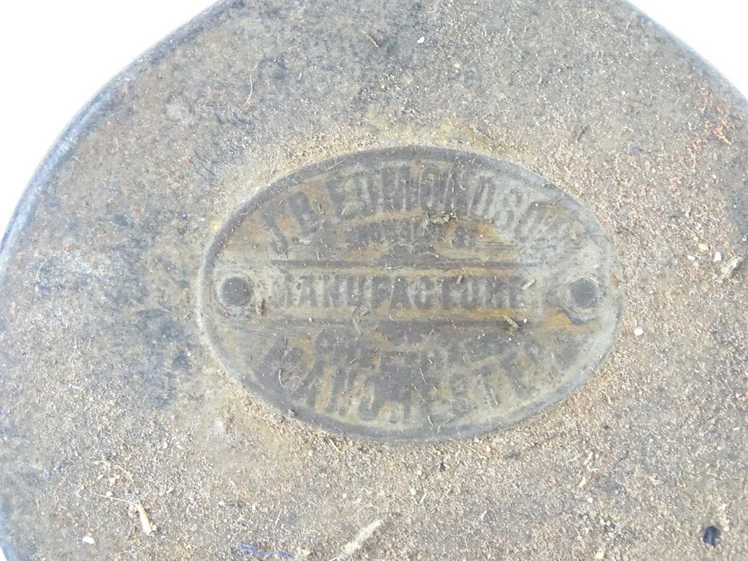 A group of railway hand lamps together with an Edmondson ticket punch (4) - Image 3 of 9