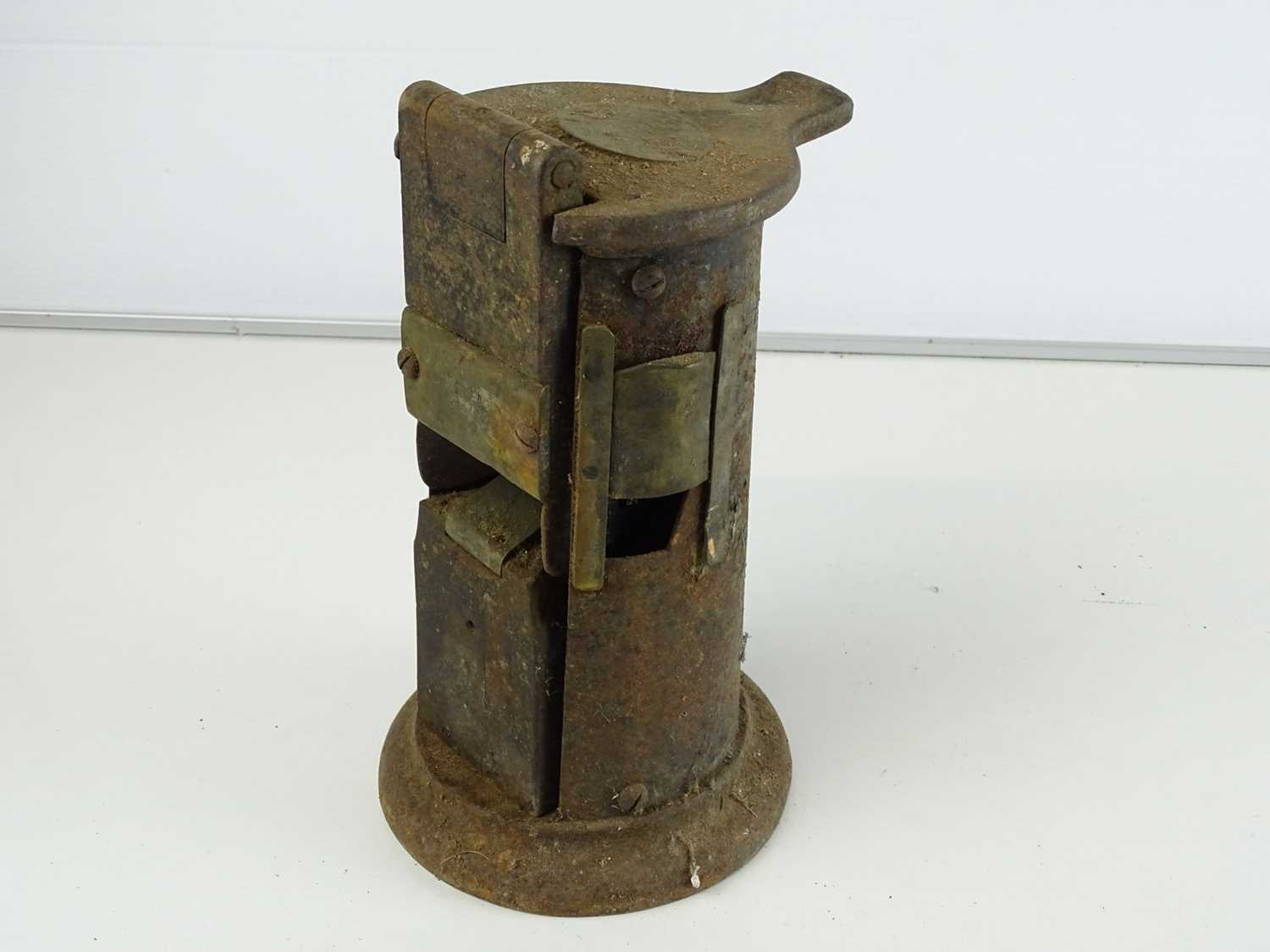 A group of railway hand lamps together with an Edmondson ticket punch (4) - Image 2 of 9