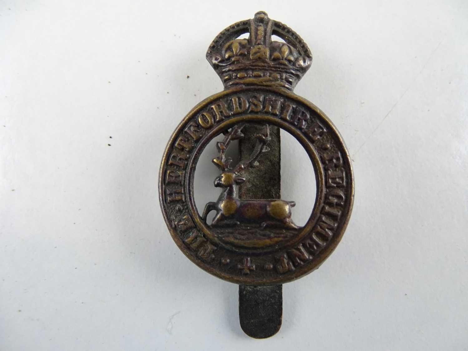 A group of military cap badges as lotted(6) - Image 2 of 6