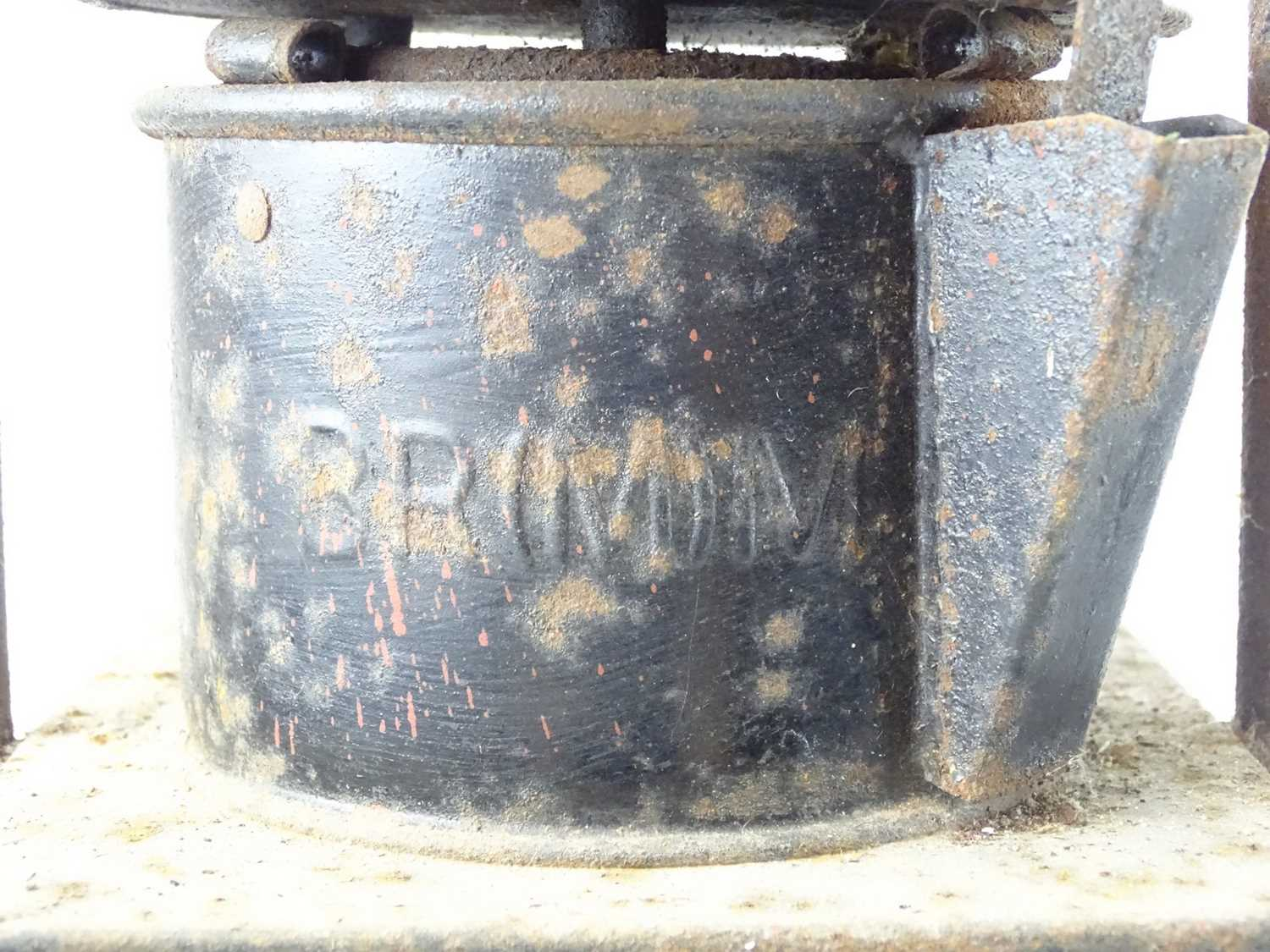 A pair of railway goods train side lamps (2) - Image 3 of 4