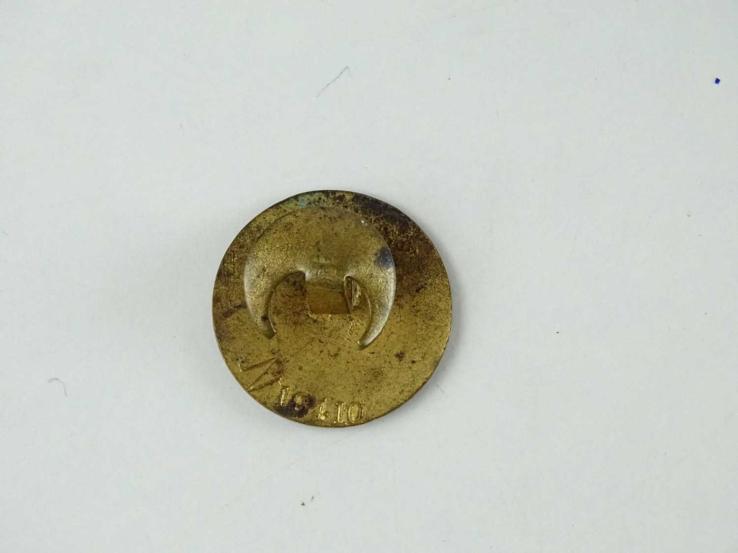 A Great Eastern Railway WW1 Railway Service Badge - stamped to rear 'J A Wylie' and numbered N10410 - Image 2 of 2