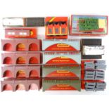 A large quantity of OO Gauge TRI-ANG and HORNBY kits - mostly bridges and viaducts - together with