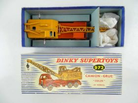 A FRENCH DINKY 972 Coles Lorry Mounted Crane - G/VG in G box