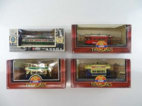 A small group of CORGI diecast trams in original boxes - G in G boxes (4)