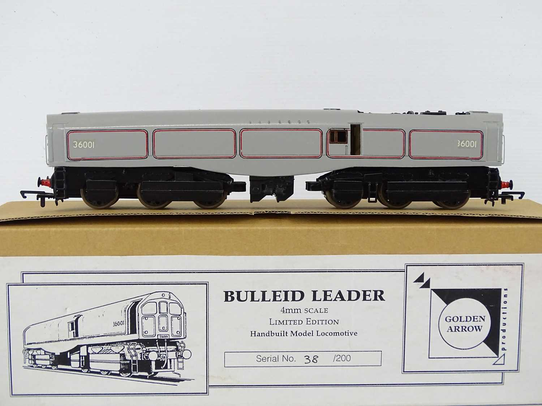 A GOLDEN ARROW PRODUCTIONS OO Gauge hand built limited edition - 38/200 - Bulleid Leader