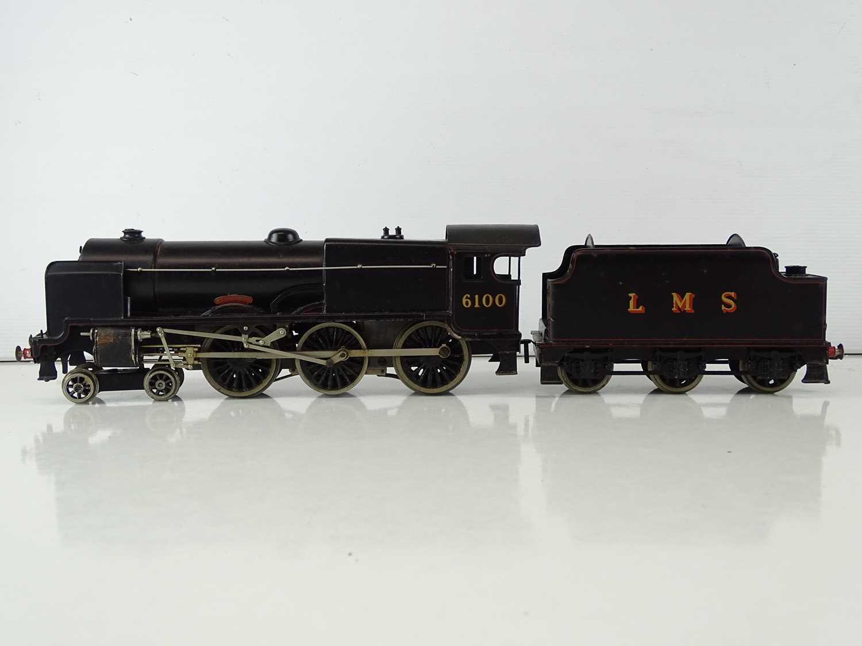 A BASSETT-LOWKE 3-rail O gauge 5611/0 Royal Scot steam locomotive in LMS black livery - G in F/G - Image 2 of 7