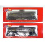 A pair of SPECTRUM American outline G scale narrow gauge 1:20.3 bogie tank wagons - as new, ex-