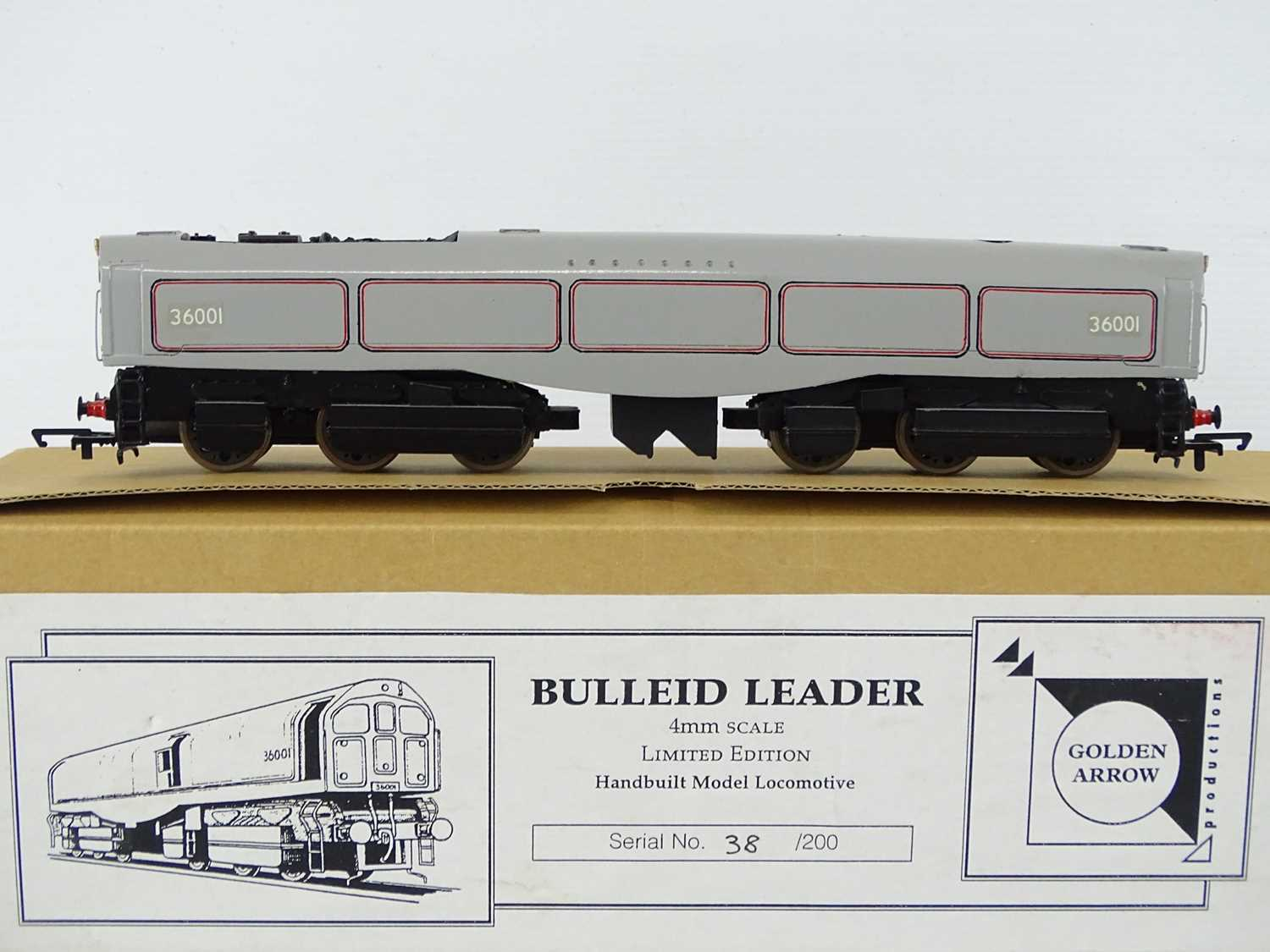 A GOLDEN ARROW PRODUCTIONS OO Gauge hand built limited edition - 38/200 - Bulleid Leader - Image 2 of 4