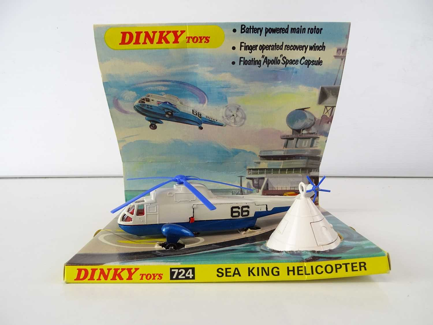 A group of DINKY Military Aircraft comprising: 724 and 736 Sea King Helicopters together with 722 - Image 2 of 3