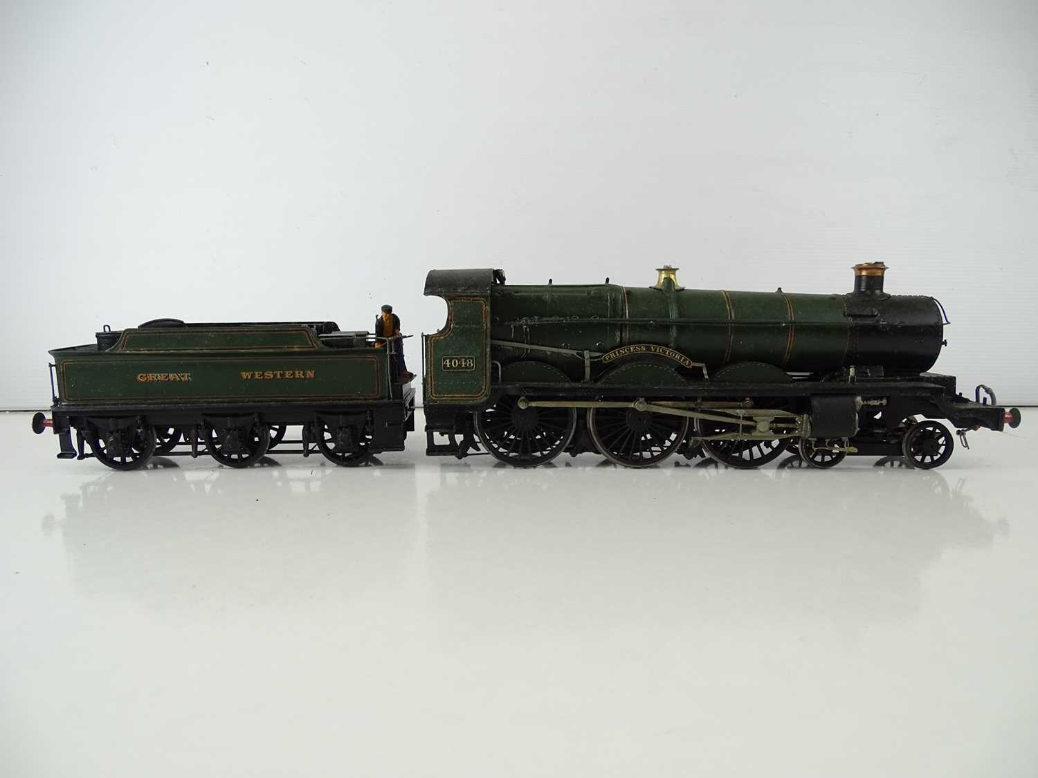 """A kitbuilt O Gauge finescale Star class steam locomotive in GWR green livery """"Princess Victoria"""" - - Image 2 of 7"""