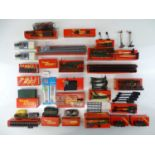 A large quantity of TRI-ANG and HORNBY OO Gauge parts and accessories together with some other items