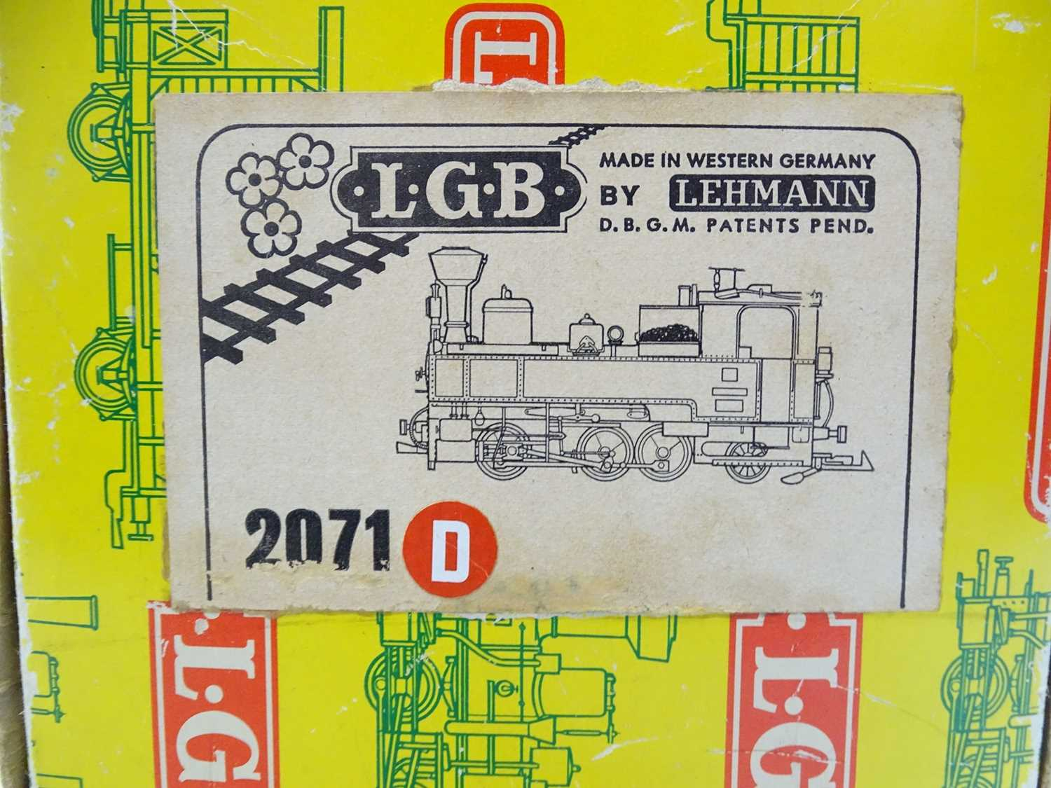An LGB G Scale 2071D 0-6-2 steam tank locomotive in Zillertalbahn black livery numbered 2 - VG in - Image 4 of 4