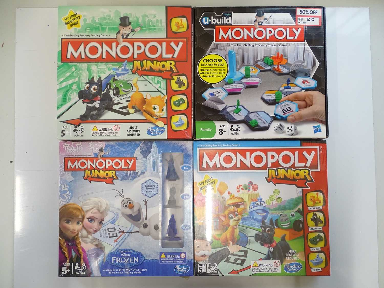 A group of Monopoly sets, all sealed as new, to include Junior and Chocolate editions (N.B. We - Image 2 of 3