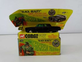 A CORGI Toys 268 'The Green Hornet's Black Beauty' - G - minor playwear (complete with 1 x missile