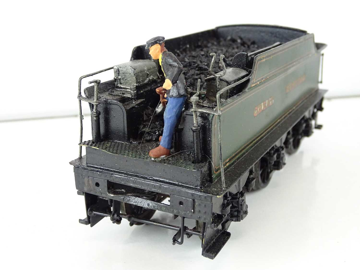 """A kitbuilt O Gauge finescale Star class steam locomotive in GWR green livery """"Princess Victoria"""" - - Image 4 of 7"""