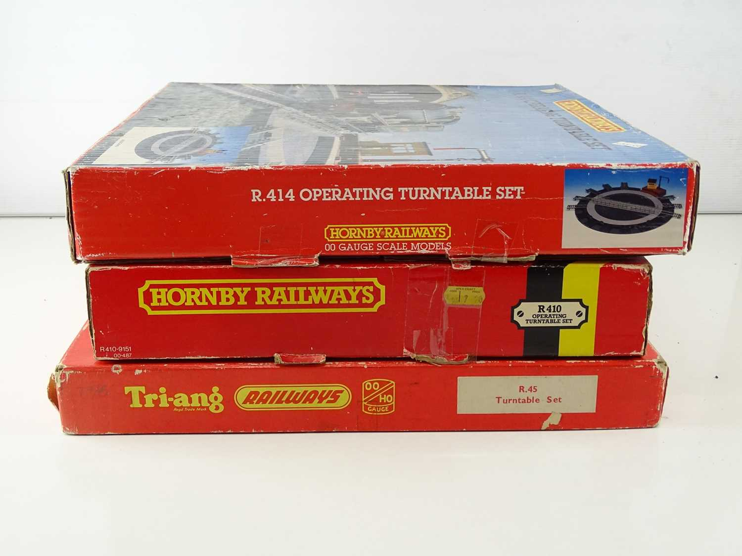 A group of TRI-ANG and HORNBY OO Gauge Operating Turntables - G/VG in F/G boxes (3) - Image 8 of 8