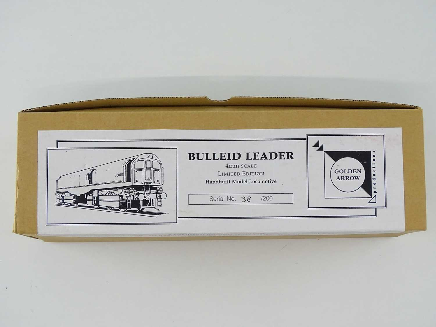 A GOLDEN ARROW PRODUCTIONS OO Gauge hand built limited edition - 38/200 - Bulleid Leader - Image 3 of 4