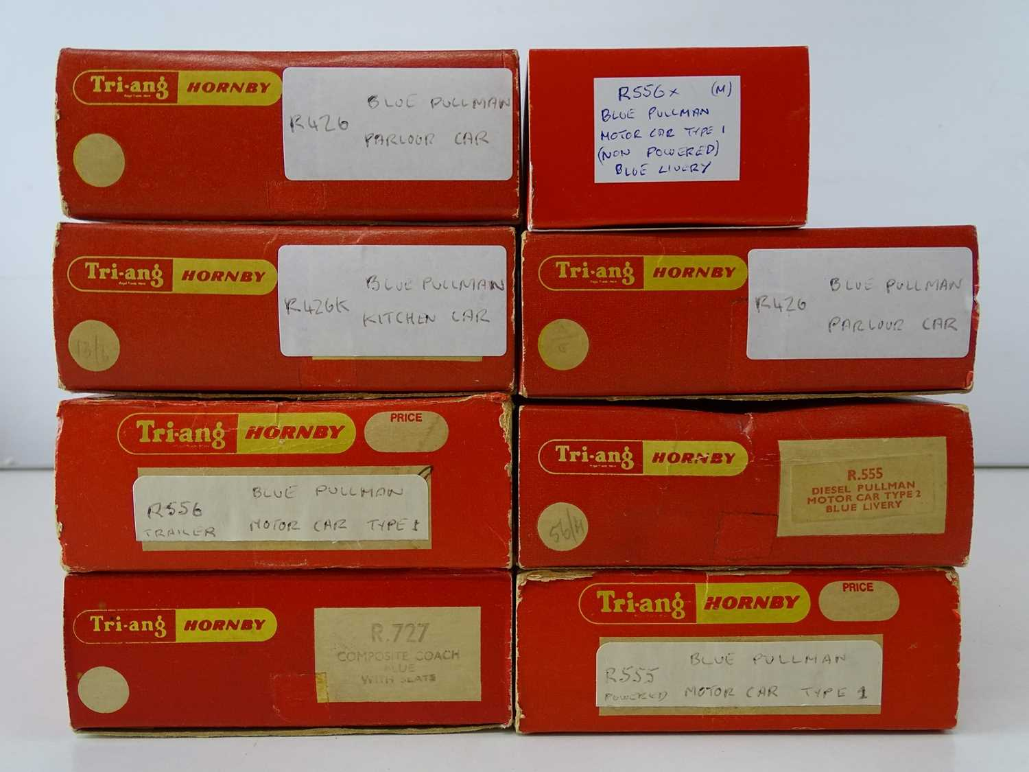A group of TRI-ANG - HORNBY OO Gauge blue Pullman sets - one car in repro box - G/VG in F/G boxes ( - Image 2 of 2