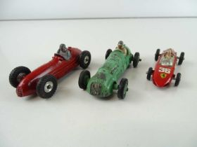 A group of Formula One Racing Cars by CORGI and DINKY comprising: DINKY 23j and 231 together with