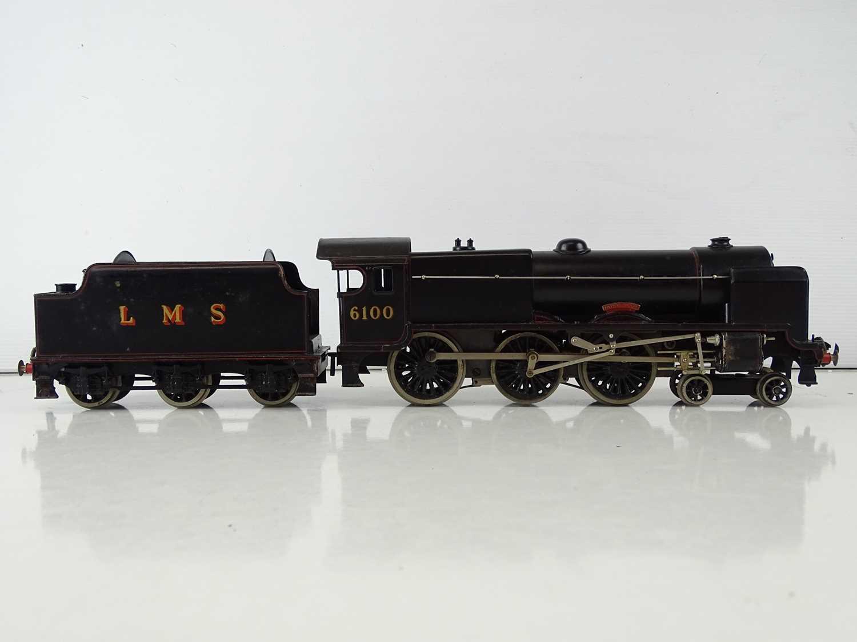 A BASSETT-LOWKE 3-rail O gauge 5611/0 Royal Scot steam locomotive in LMS black livery - G in F/G - Image 3 of 7