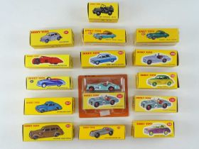 A group of ATLAS DINKY cars from the British range - VG in G boxes (15)