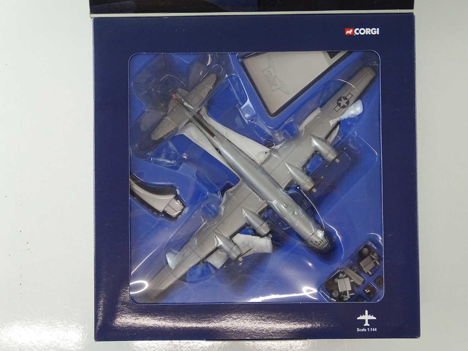 A group of CORGI AVIATION ARCHIVE 1:144 scale Military and Berlin Airlift Series propellor - Image 3 of 8