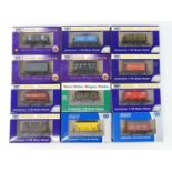 A mixed group of DAPOL OO gauge wagons to include a quantity of limited editions - VG in G/VG