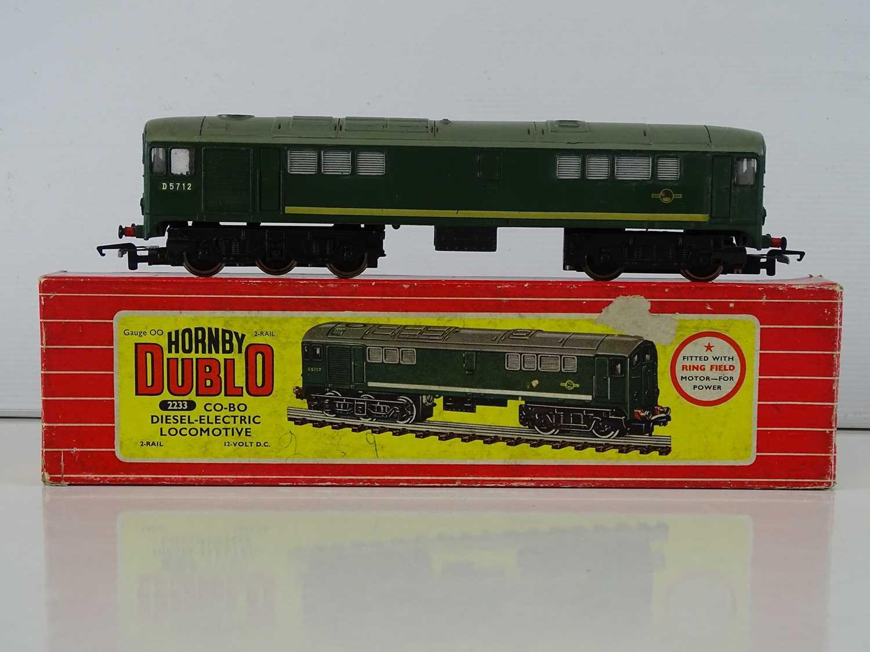 A HORNBY DUBLO 2233 2-rail OO Gauge BR Class 28 Co-Bo Diesel Electric locomotive - renumbered