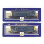 A pair of LIMA OO Gauge Class 20 diesel locomotives in BR blue livery - G/VG in G boxes (2)