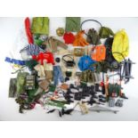 A large quantity of 1970s ACTION MAN clothing and accessories - G (unboxed)