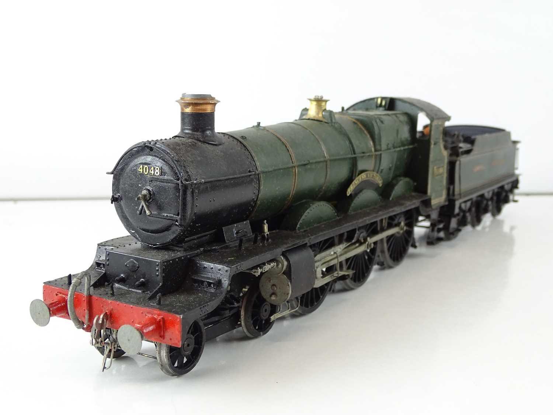 "A kitbuilt O Gauge finescale Star class steam locomotive in GWR green livery ""Princess Victoria"" -"