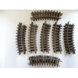 A group of G Scale LGB track sections - G/VG unboxed (Q)