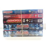 A group of Monopoly sets, all sealed as new, to include FIFA and Mario editions - VG/E in VG