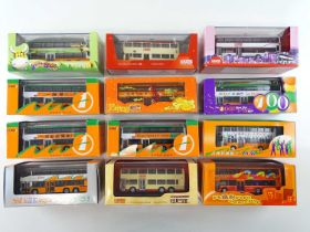 A group of diecast 1:76 scale by CORGI OOC - all Hong Kong related examples - VG in G boxes (12)