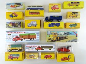 A large quantity of ATLAS DINKY lorries and vans from the French range - VG in G boxes (17)