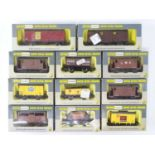 A mixed group of WRENN OO gauge wagons - VG in G boxes (11)