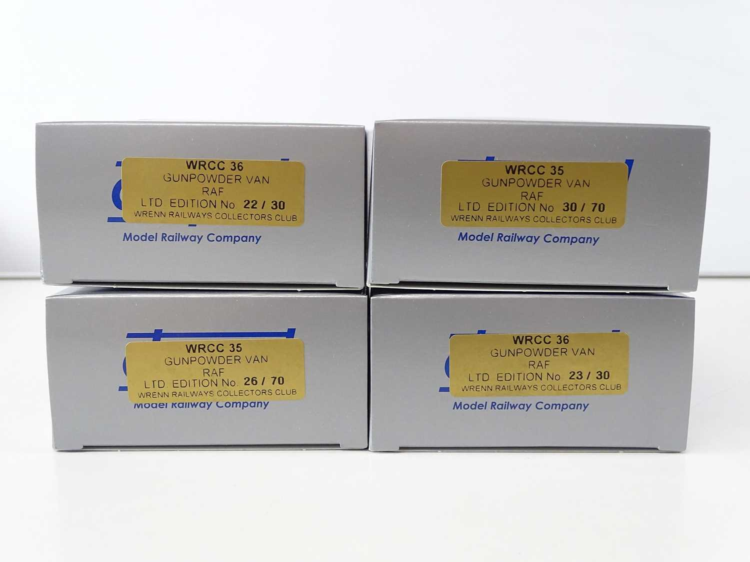 A group of OO Gauge WRENN RAILWAYS Collectors' Club limited edition Royal Airforce Gunpowder - Image 2 of 2