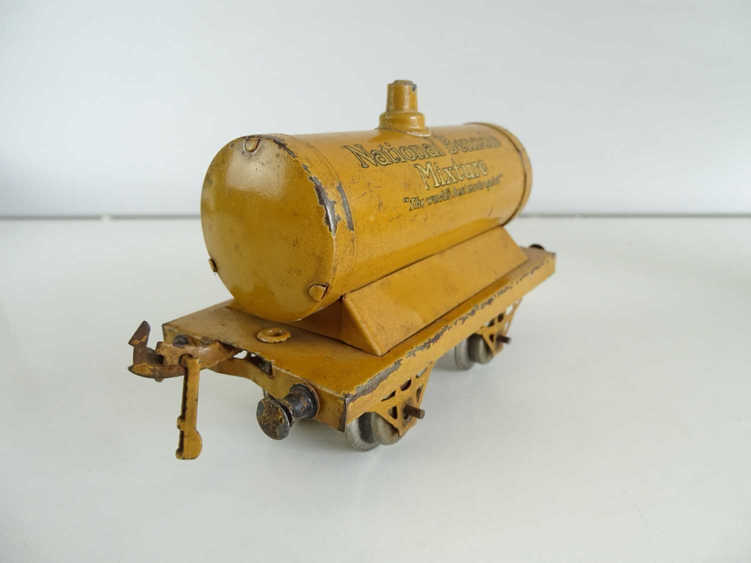 A pair of early HORNBY SERIES O Gauge petrol tank wagons comprising National Benzole and Shell - - Image 2 of 4