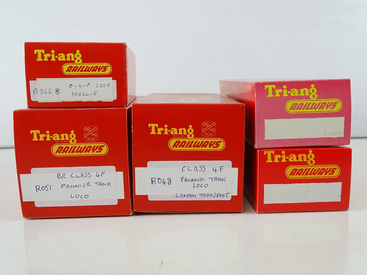 A group of TRI-ANG and HORNBY OO Gauge steam tank locomotives as lotted - all in reproduction TRI- - Image 2 of 2