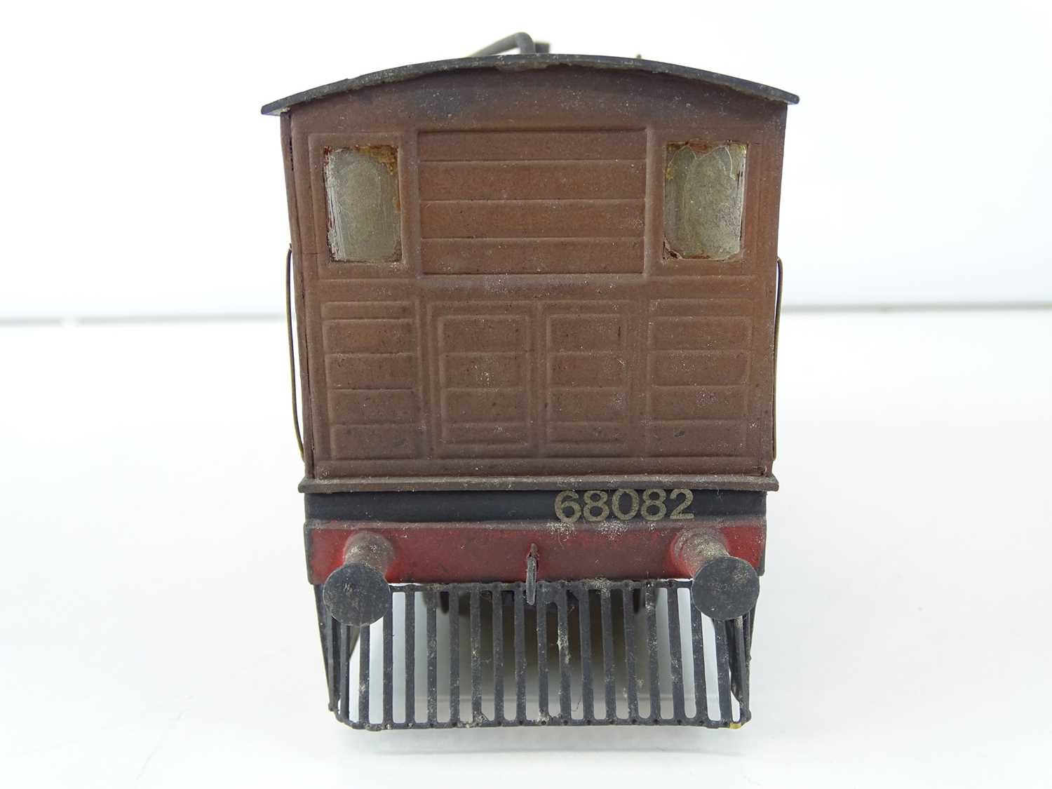 A kit/scratchbuilt O Gauge finescale ex-LNER class J70 Tram loco in weathered BR livery - G/VG - Image 4 of 5