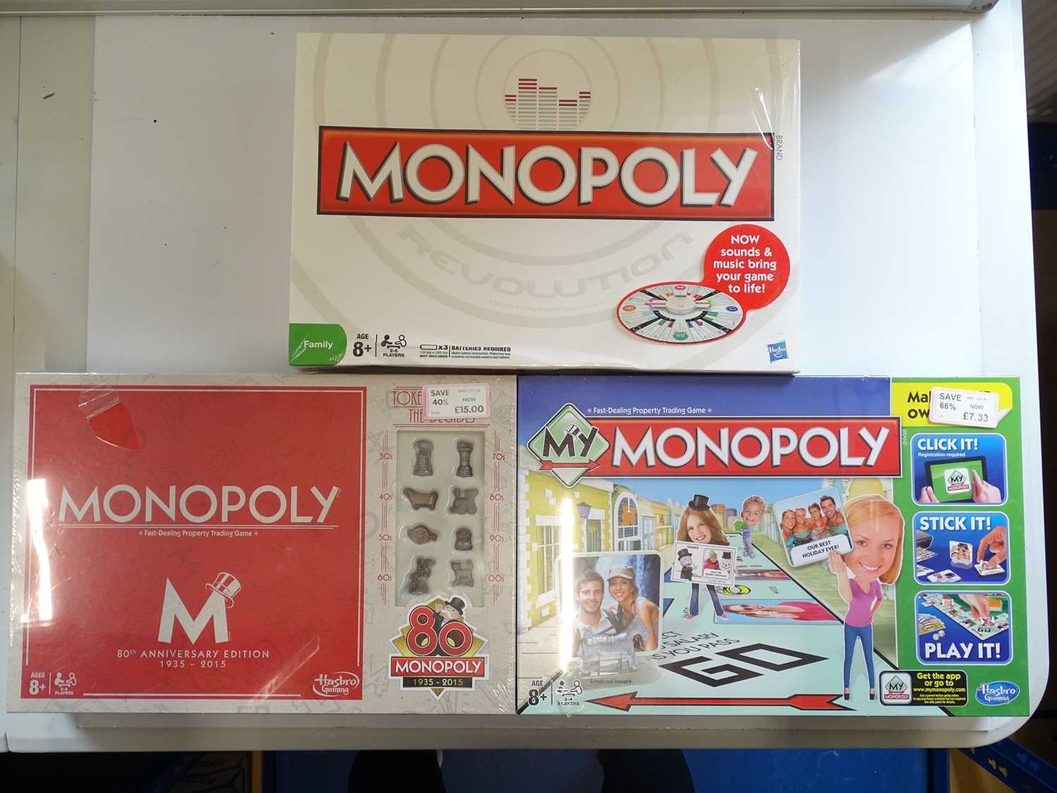 A group of Monopoly sets, all sealed as new, to include anniversary and boxed editions - VG/E in - Image 2 of 3