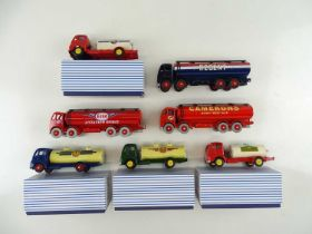 A group of ATLAS DINKY tanker lorries, mostly Code 3 examples - VG in G/VG boxes where boxed (7)