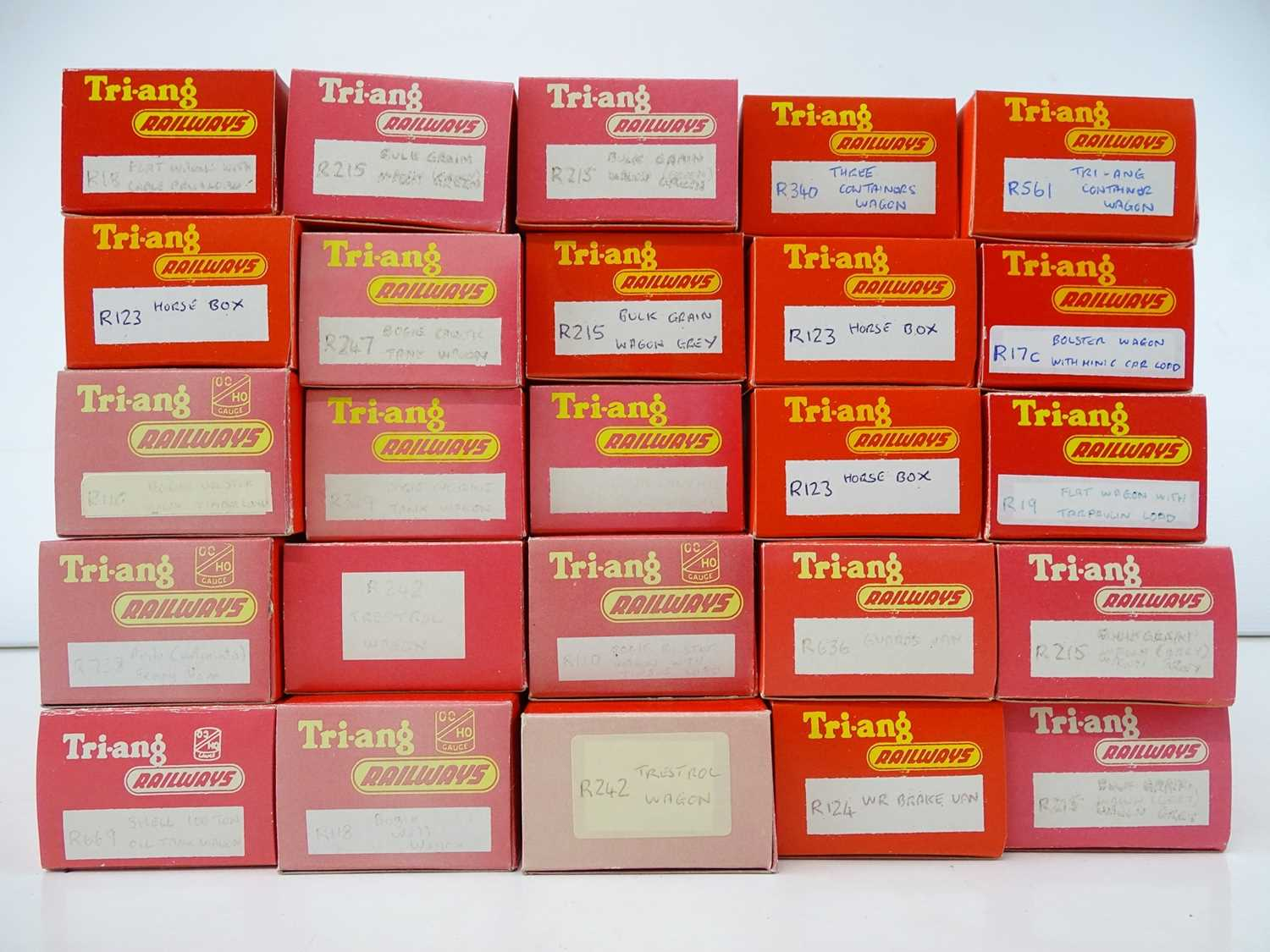 A large quantity of TRI-ANG wagons all in repro boxes - G in G boxes (27 wagons in 25 boxes) - Image 2 of 2